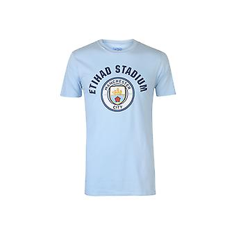 Source Lab Manchester City FC T-Shirt Mens