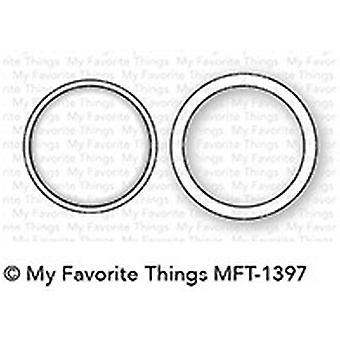 Mis cosas favoritas Mini Circle Shaker Ventana & Marco Die-Namics