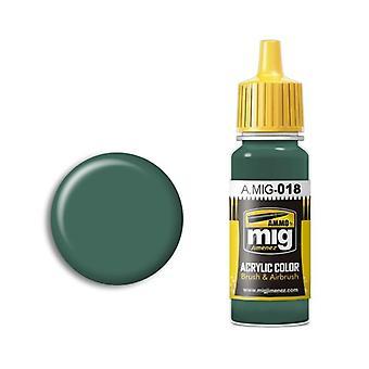 Ammo by Mig Acrylic Paint - A.MIG-0018 Waffen SS - Polizei Grun (17ml)