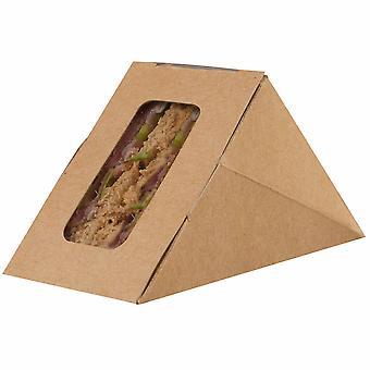 ColPac Kraft Mini Sandwich Box