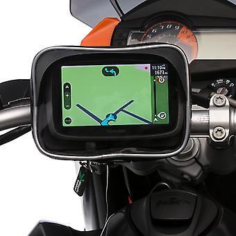 Ultimateaddons moottoripyörä vedenpitävä GPS tapauksessa metalli u pultti mount