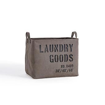LY117, Danya B. Army Canvas Laundry Basket