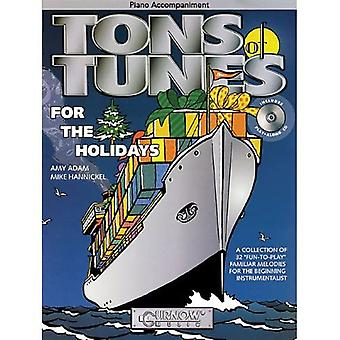 Tons of Tunes for the Holidays: Piano Accompaniment (Tons of Tunes for the Holidays)