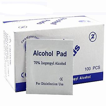 100pcs/box Alcohol Swabs Pads Wipes - Antiseptic Sterilization Alcohol Wipes