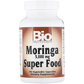 Bio Nutrition, Moringa Super Food, 5,000 mg, 90 Vegetable Capsules