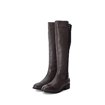 Xti - shoes - boots - 48441_GREY - ladies - gray,black - EU 38