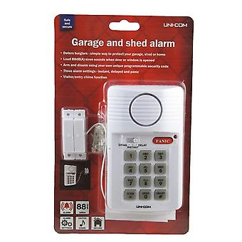 Uni-Com Garage and Shed Alarm