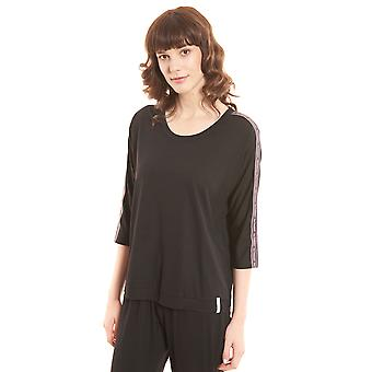 Rösch be happy! 1202122-10995 Women's Black Pyjama Top