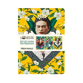 Frida Kahlo Mini Notebook Collection by Created by Flame Tree Studio