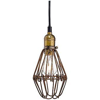 Firstlight Arcade - 1 licht plafond hanger rustiek bruin, E27