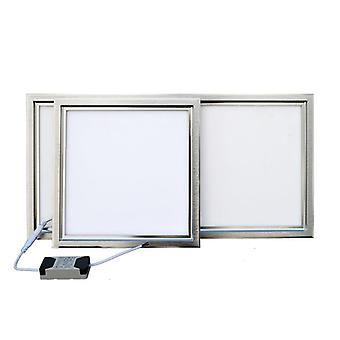 Integrated Ceiling Led Panel Lamp - Kitchen, Bathroom, Embedded Aluminum Gusset