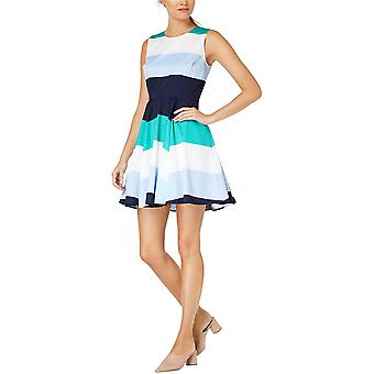 Maison Jules | Colorblocked Fit Flare Kleid