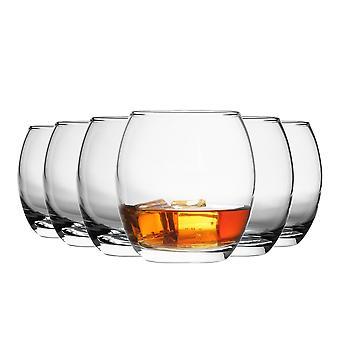 Argon Servies Tondo Water / Whisky / Juice Tumbler Glasses - Geschenkdoos van 24 Glazen - 405ml (14oz)