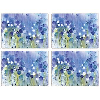 iStyle Cornflower Set of 4 Placemats