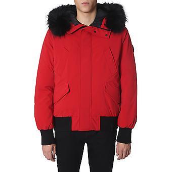 Rudsak 6118535srbk Men's Red Polyester Outerwear Jacket