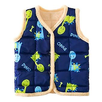 Baby Vest Winter Thicken Warm Infant Toddler Clothes Boys Girls Cotton Jacket
