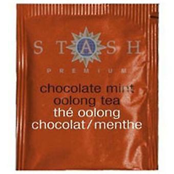 Stash Tea Chocolate Mint Oolong Tea, 18 Bags