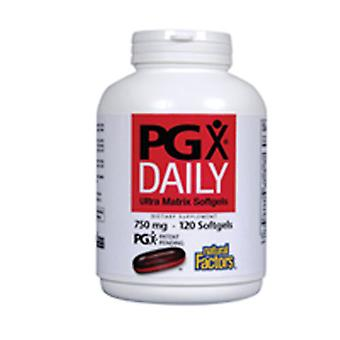 גורמים טבעיים PGX יומי, 240 כמוסות רכות