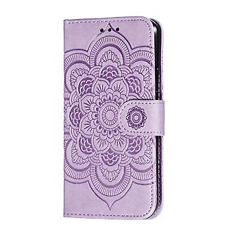 Wallet Case for Samsung Galaxy A20e Purple BEFOSPEY-197