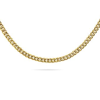 Choker Cuban Links Hollow 18K Ouro