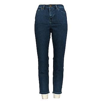 بروك SHIELDS الخالدة المرأة & apos;ق صغيري الجينز الكاحل طول الأزرق A351368
