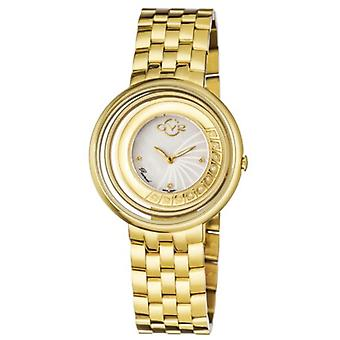 GV2 Tekijä Gevril Women's 1602 Vittorio Diamonds Gold IP Stainless Steel Watch