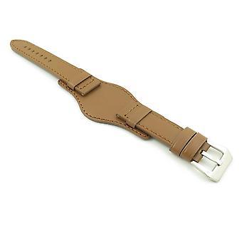 Strapsco dassari empire thick leather bund strap