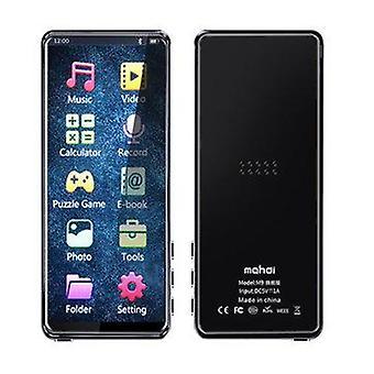 Mahdi M9 bluetooth 5.0 8GB Bez stratový MP3 MP4 prehrávač 3.5inch HD IPS Na celú obrazovku