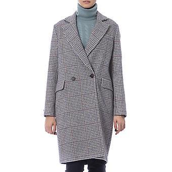 Peserico Polven pituus Kaksi Pocket Coat