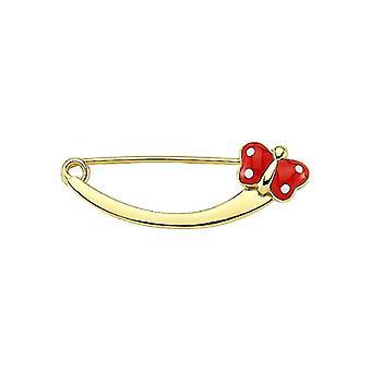 Dieťa Butterfly Gold Pin