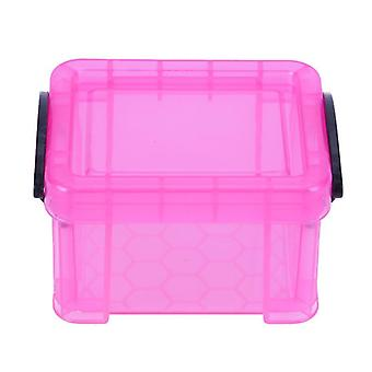Mini Storage Box With Double Buckle Design For Small Articles/objects