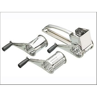 Kitchen Craft Rotary Grater Stainless Steel KCDRUM3
