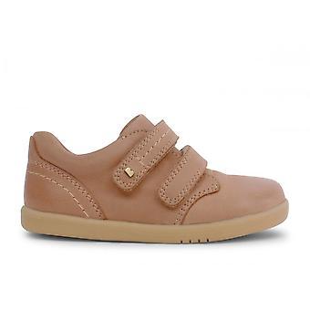 BOBUX Double Velcro Shoe Iw Port Dress Caramel