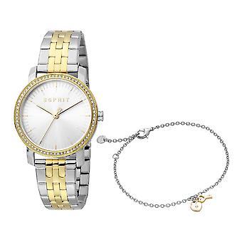 Esprit ES1L183M2085 Valentine Silver Gold MB Women's Watch