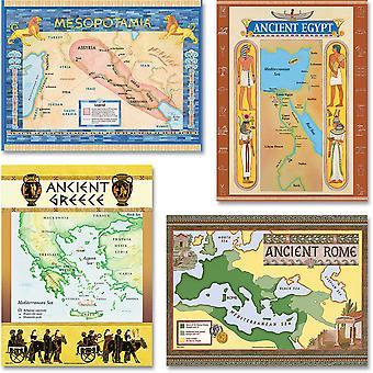 Conjunto del Tablón de Boletín de Civilizaciones Antiguas