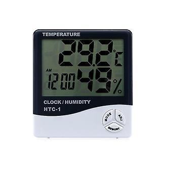 مقياس الحرارة الداخلي الرقمي للرطوبة - مؤشر قياس قياس مراقبة الرطوبة