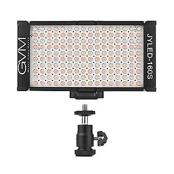 GVM 160 LED Light  Panel Light on Digital Camera Camcorder DSLR Video Light