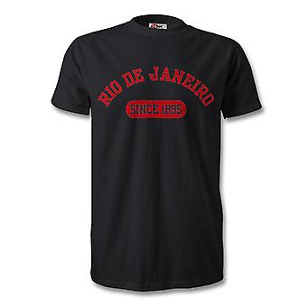 Flamengo 1895 perustettu Football t-paita