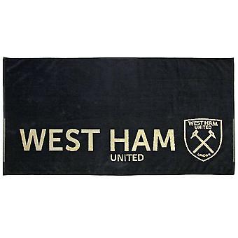 West Ham United FC Jacquard Towel