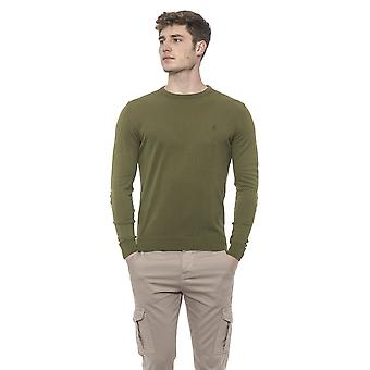 Green Pullover Conte of Florence man