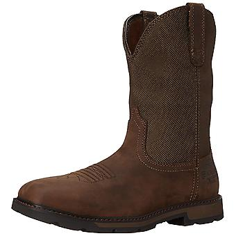 Ariat Men's Groundbreaker Wide Square H2O Steel Toe Work Boot