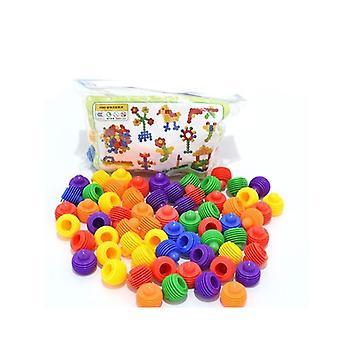 Дети взаимосвязанных Строительство Jeux Enfant Образование Монтесори Juguetes игрушка