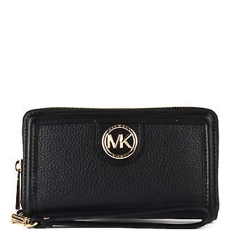 MICHAEL Michael Kors Samira Flat Multifunctional Phone Case Black