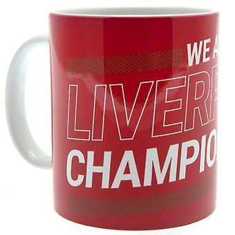 Liverpool FC Premier League Champions 2019-20 Caneca