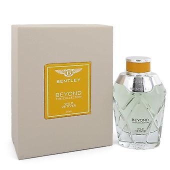 Bentley Wild Vetiver Eau De Parfum Spray (Unisex) By Bentley 3.4 oz Eau De Parfum Spray