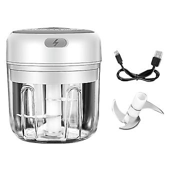 Electric Masher Crusher, Chopper Usb Charging For Garlic & Ginger Crushed