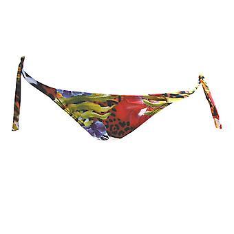 Buzios Bikinis, Roar! Tiger Bikini Thong - Tie Sides
