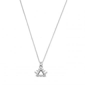 ChloBo SNDB3102 Women's Delicate Box Chain Fire Necklace