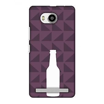 Beer And Pattern - Saturated Pink Slim Hard Shell