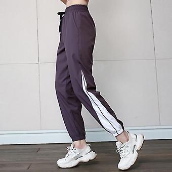 Sport Fitness Pants Women Elastic Band